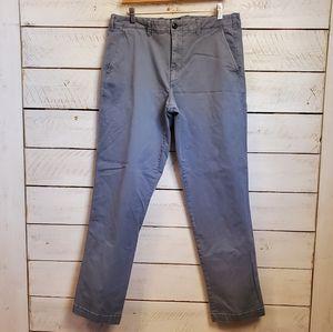 GAP Khakis straight stretch pants